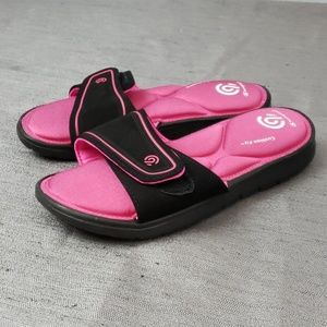 Champion Kids 2/3 Cushion Fit Slide Sandals Nwot